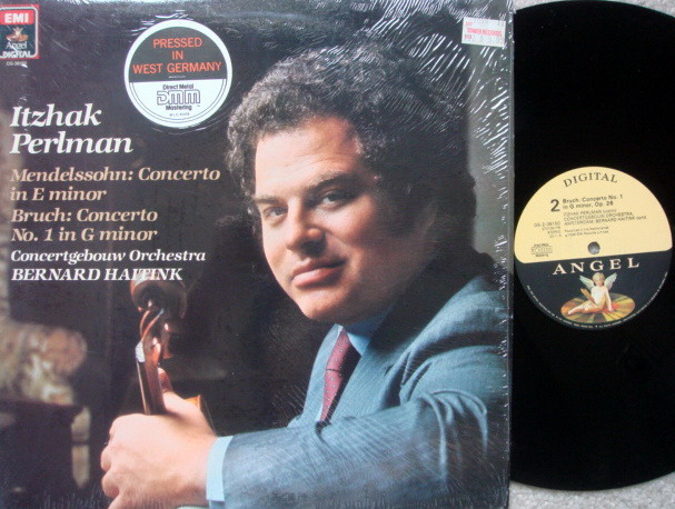 EMI Angel Digital / PERLMAN, - Mendelssohn-Bruch Violin Conertos, NM!