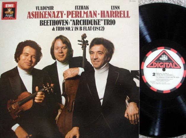 EMI Angel Digital / ASHKENAZY-PERLMAN-HARRELL, - Beethoven Archduke Trio, NM!