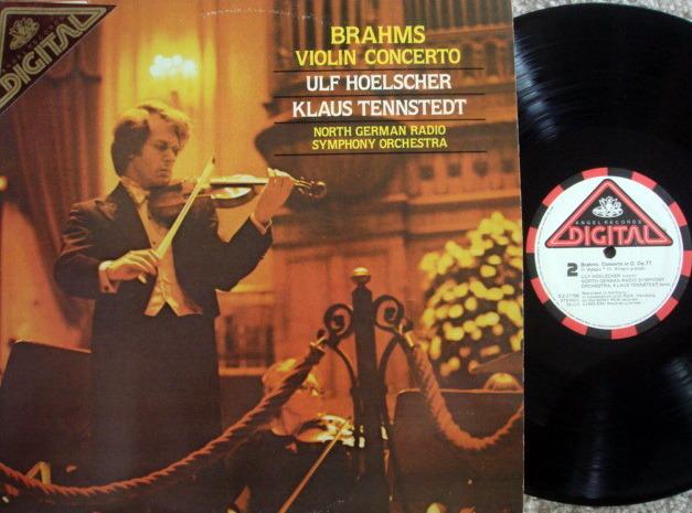 EMI Angel Digital / HOELSCHER, - Brahms Violin Concerto, NM!