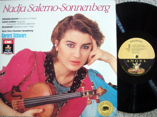 EMI Angel Digital / SONNENBERG, - Mendelssohn Violin Conerto, NM!