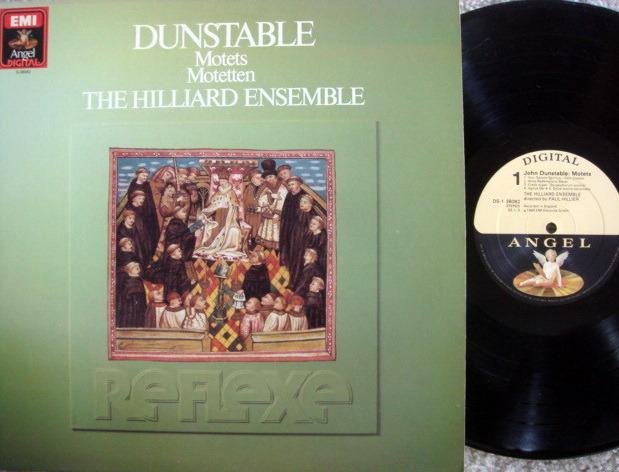 EMI Angel Digital / HILLIER, - Dunstable Motets, NM!