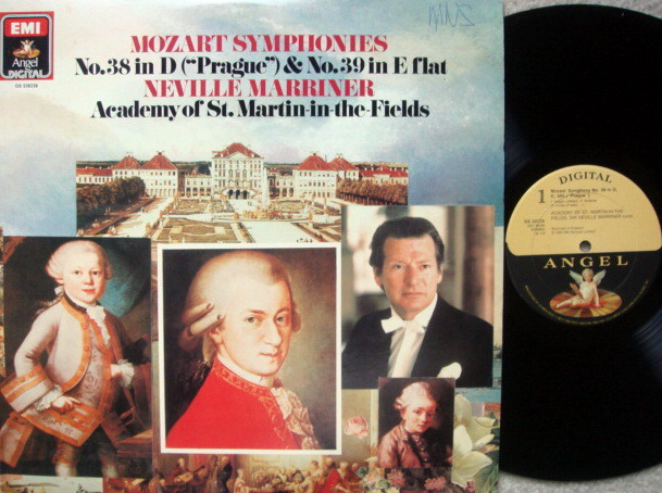 EMI Angel Digital / MARRINER, - Mozart Symphony No.38 & 39,  NM!