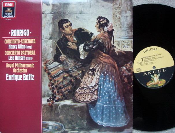 EMI Angel Digital / BATIZ,  - Rodrigo Concierto-Serenata,  NM!