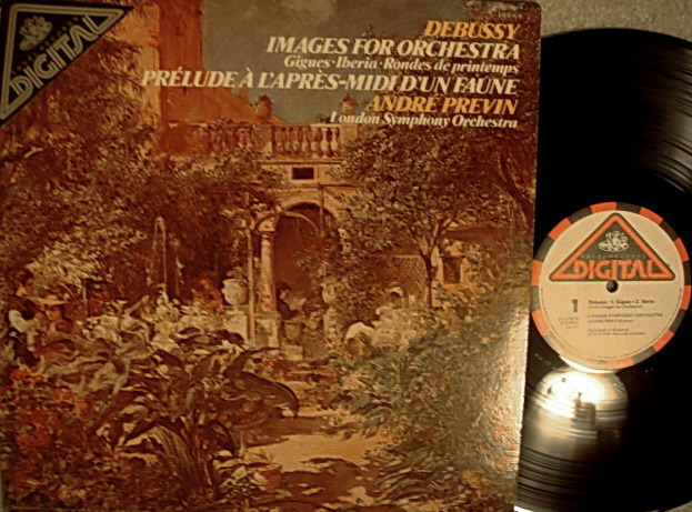 EMI Angel Digital / PREVIN,  - Debussy Images for Orchestra,  NM!