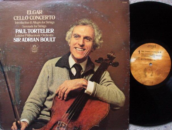 EMI Angel / TORTELIER-BOULT,  - Elgar Cello Concerto, NM!