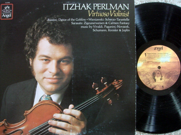 EMI Angel / PERLMAN, - Virtuoso Violinist,  NM!