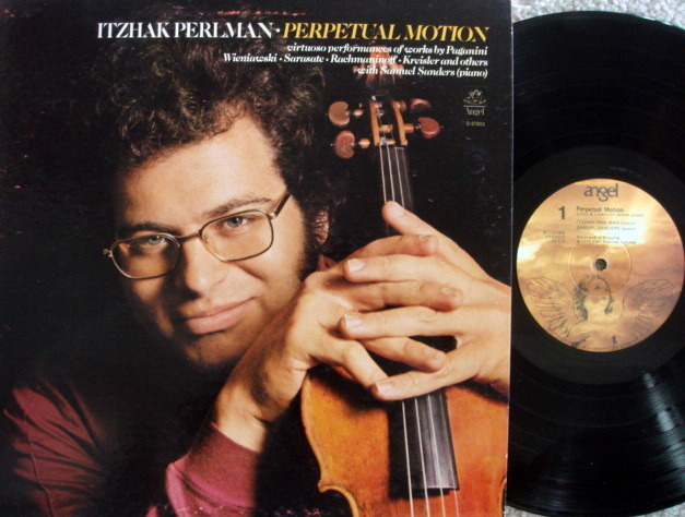 EMI Angel / PERLMAN-SANDERS, - Perpetual Motion, NM!
