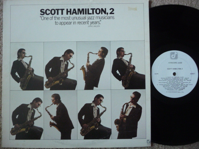 SCOTT HAMILTON, 2 - CONCORD JAZZ  CONCORD LP EX