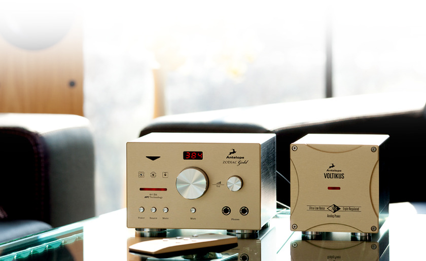 Antelope Zodiac Gold Bundle with Voltikus This DAC has Smile Factor