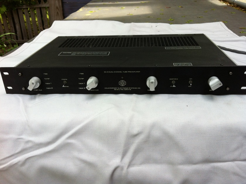 Counterpoint SA 3.1 Tube Preamp