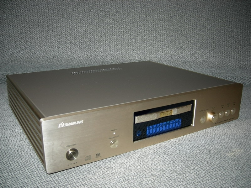 Shanling SCD-S300 CD Player - Demo