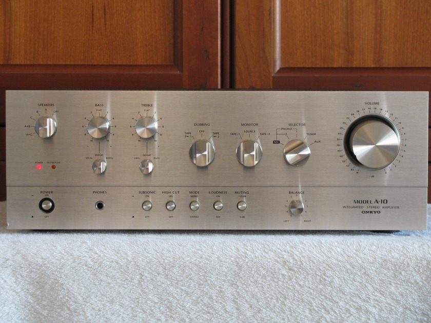 Onkyo A-10 85 wpc Vintage Integrated Amp