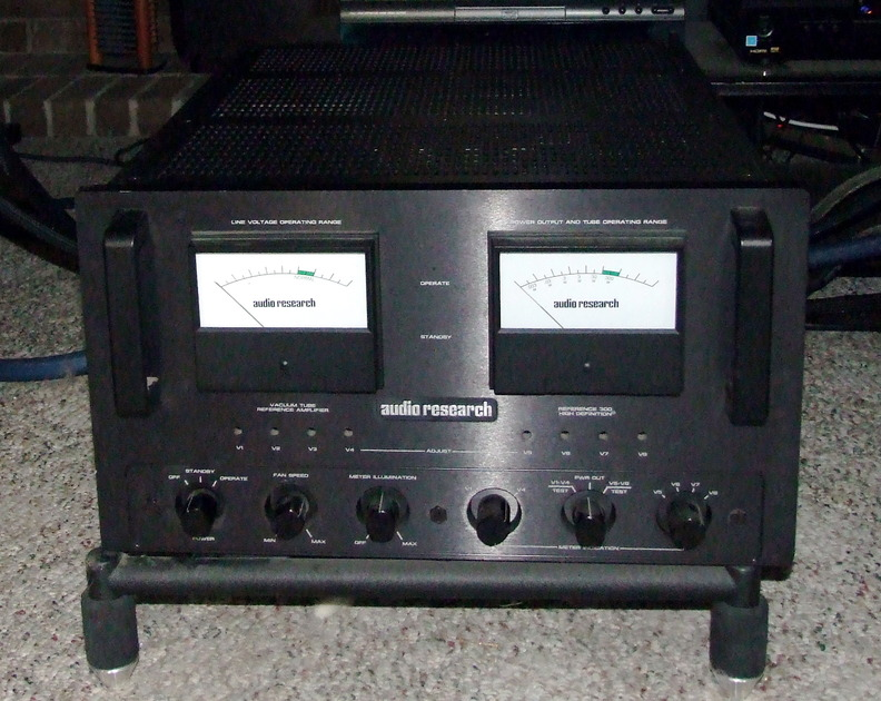 AUDIO RESEARCH REFERENCE 300 MKII  Great sound