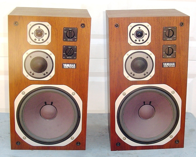 Yamaha NS-690 II 690II Speakers Gorgeous Pair In Excellent Condition