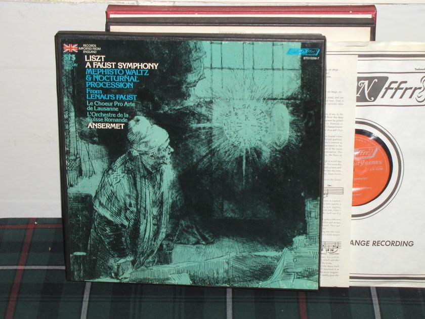 Ansermet/L'OdlSR - Liszt A Faust Sympho London ffrr uk decca sts 15296