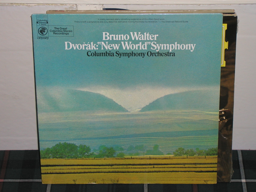 Walter/CSO - Dvorak New World Columbia still sealed (thick)