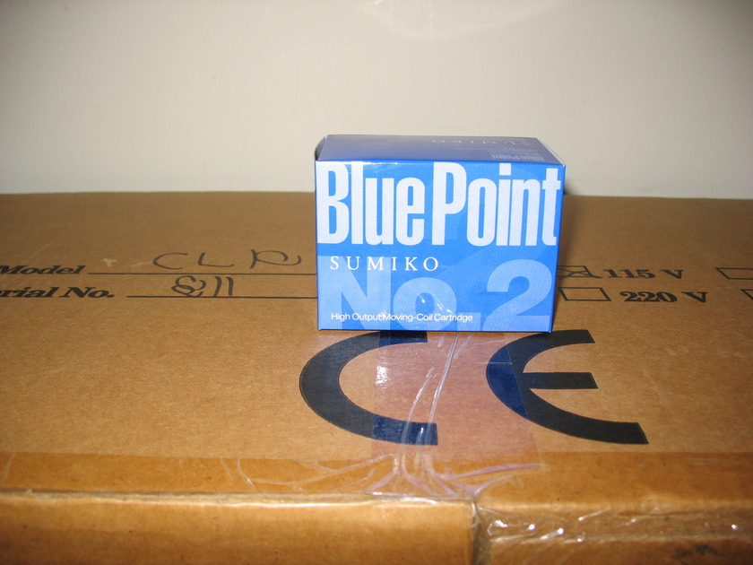 Sumiko Blue Point No. 2 High Output MC New