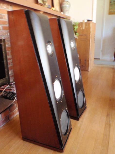 Thiel 2.3 full range speakers