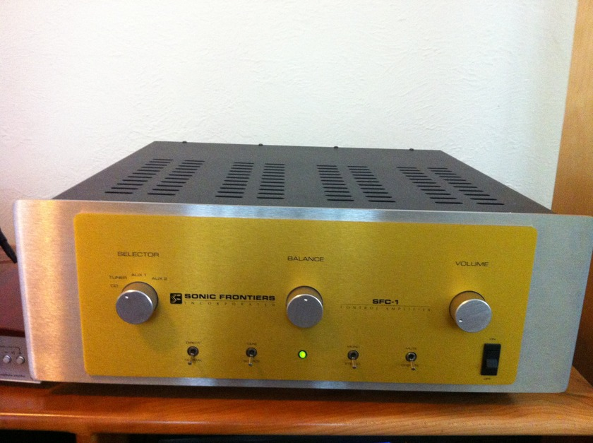 Sonic Frontiers SFC-1 Intergrated Amplifier Great condition!