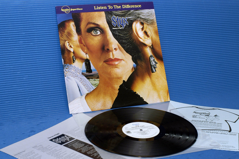 "STYX - - ""Pieces of Eight"" - Nautilus Super Discs 1980"