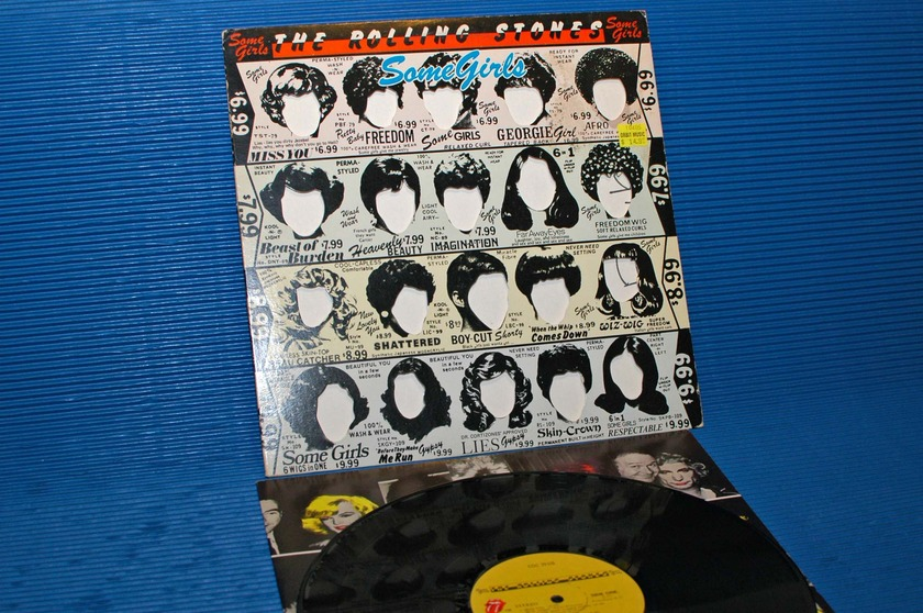 "THE ROLLING STONES - - ""Some Girls"" -  RSR 1978"