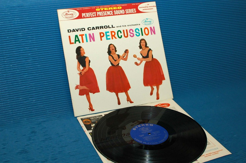 "DAVID CARROLL & ORCHESTRA - - ""Latin Percussion"" -  Mercury Perfect Presence series 1958"