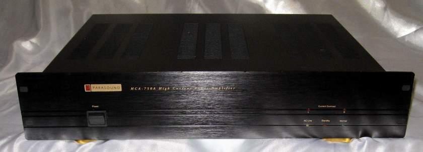 Parasound HCA-750a power amplifier