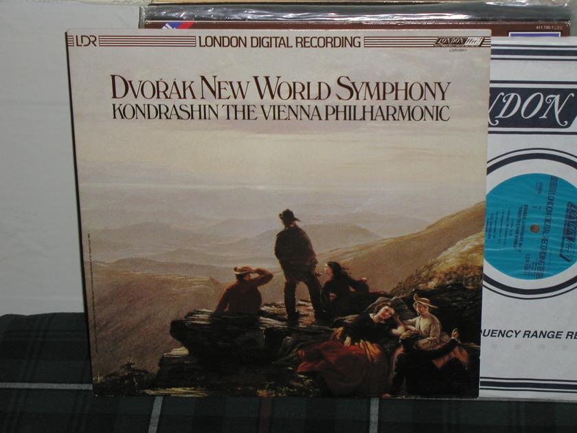 Kondrashin/VPO - Dvorak New World (Pics) London LDR/Holland LP