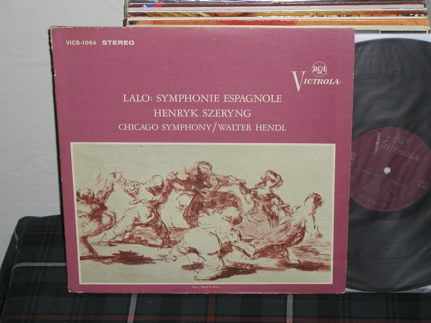 Szeryng/Hendl/CSO - Lalo Symphonie Espagnole RCA Plum Victrola STEREO