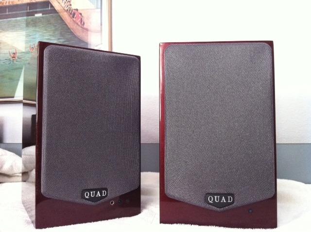 Quad  9L Active Speakers