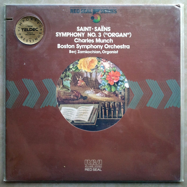 Sealed RCA Half-Speed | MUNCH/SAINT-SAENS - Symphony No.3 Organ / Audiophile German Pressings