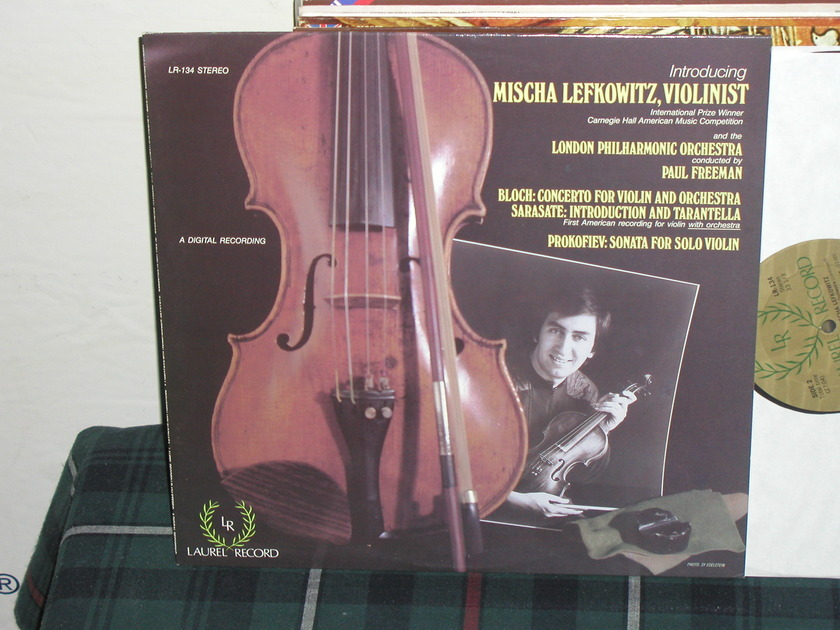 Lefkowitz/Freeman/LPO - Bloch Cto For Violin/Orch Laurel Stereo LR-134