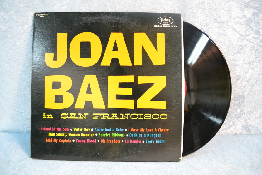 "JOAN BAEZ LP/Vinyl - ""In San Francisco"""
