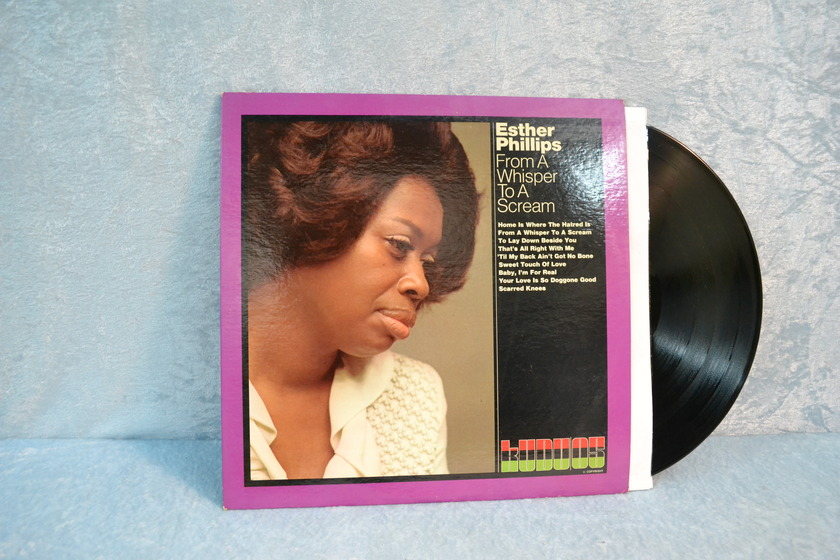 """Esther Phillips - """"From a Whisper to a Scream"""" LP/Vinyl"""