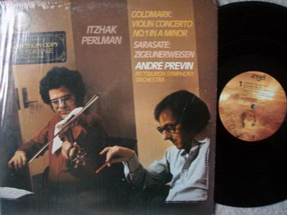 EMI Angel / PERLMAN-PREVIN, - Sarasate Zigeunerweisen,  NM, Promo Copy!
