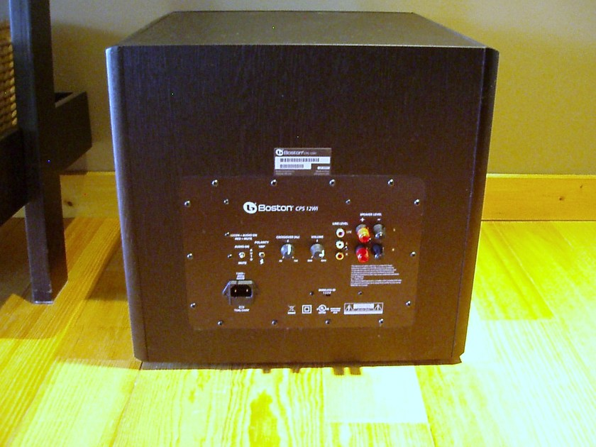 "Boston Acoustics CPS 12Wi Black 12""  Wireless ready Sub woofer"