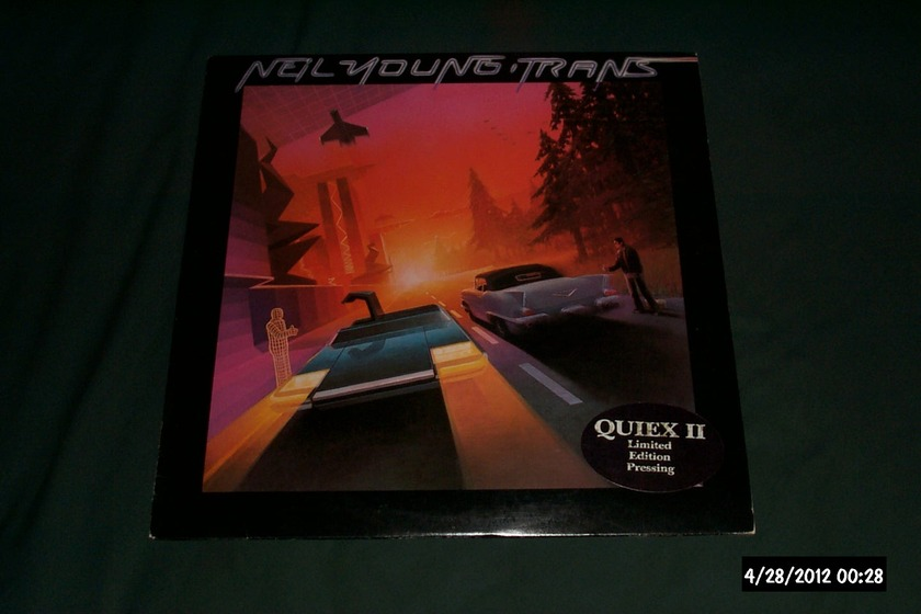 Neil young - Trans Audiophile quiex ii lp nm