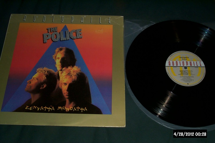 The police - Zenyatta Mondatta a & m audiophile vinyl lp nm
