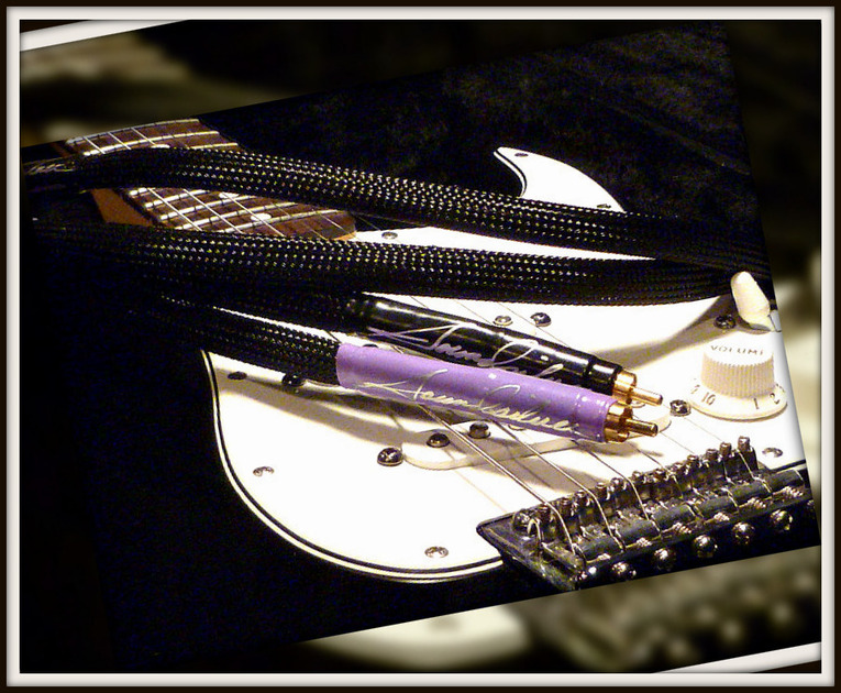 Soundsilver Octopia-    Special Edition- Ultra Reference Gold/Silver     one meter pair-rca only