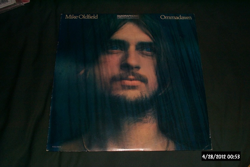 Mike Oldfield - Ommadawn sq quadraphonic lp nm
