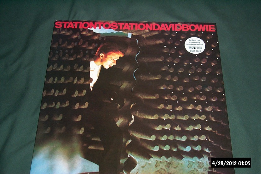 David Bowie - Station To Station Rare Color Cover UK LP NM