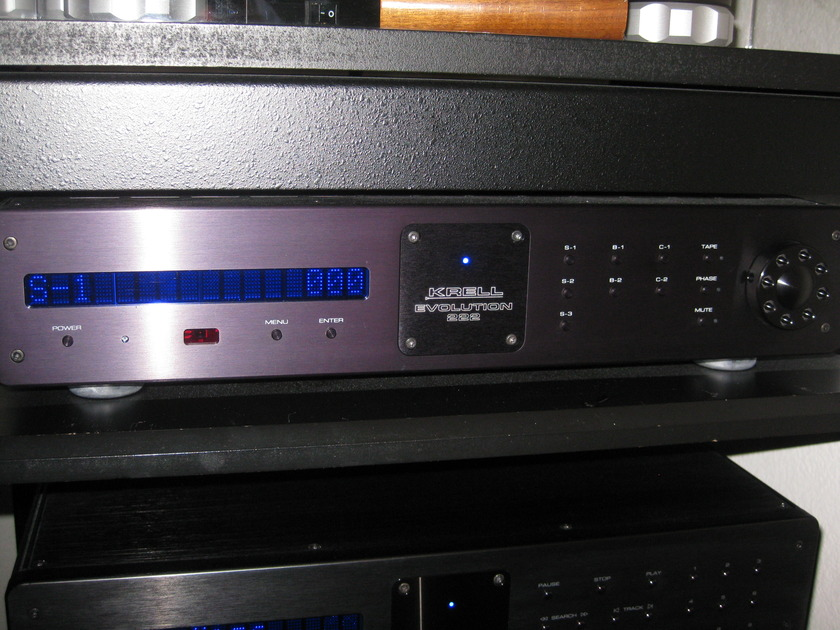 Krell Evo 222 Preamp Mint Condition