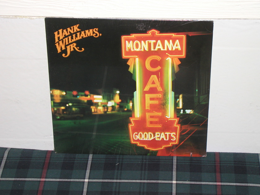 Hank Williams Jr. - Montana Cafe (Pics) Still SEALED (pics)