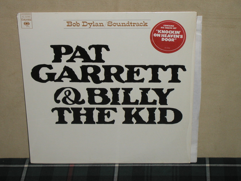 Bob Dylan - Pat Garrett/Billy Kid  Still in shrink  w/sticker. (Embossed cover)