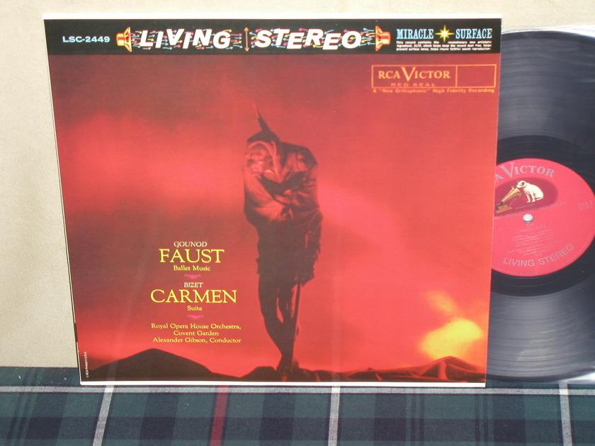 Gibson/ROHO   Faust/Carmen - RCA LSC 2449  Classic 180g M/M unplayed copy!