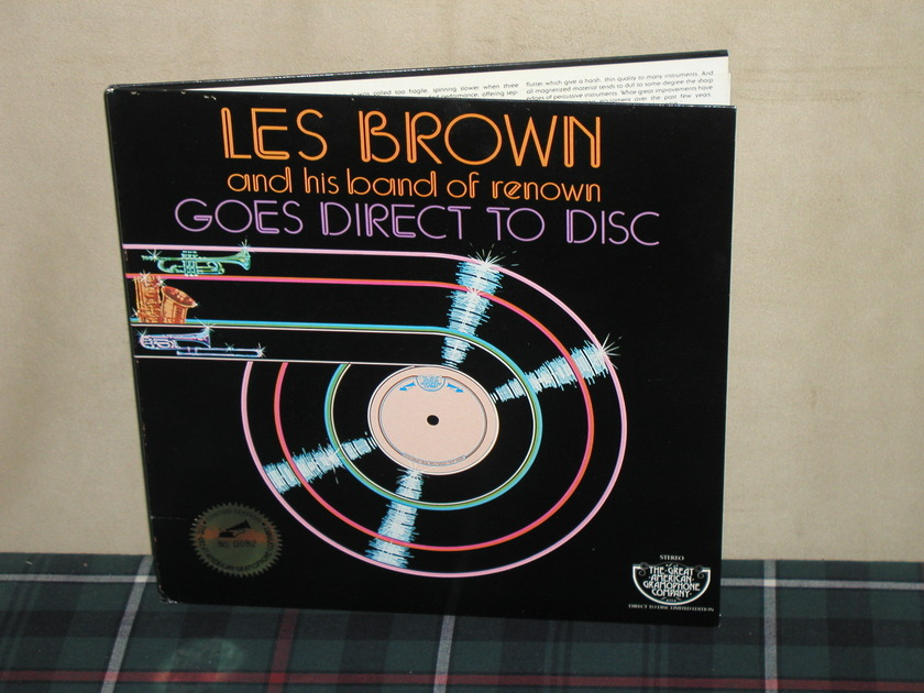 Les Brown/Band of Renown - Goes Direct To Disc D2D W/numbered sticker #0082