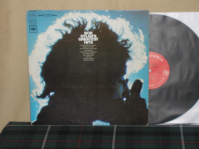 Bob Dylan's Greatest Hits - Columbia <360> First labels KCS 9463 Plays M