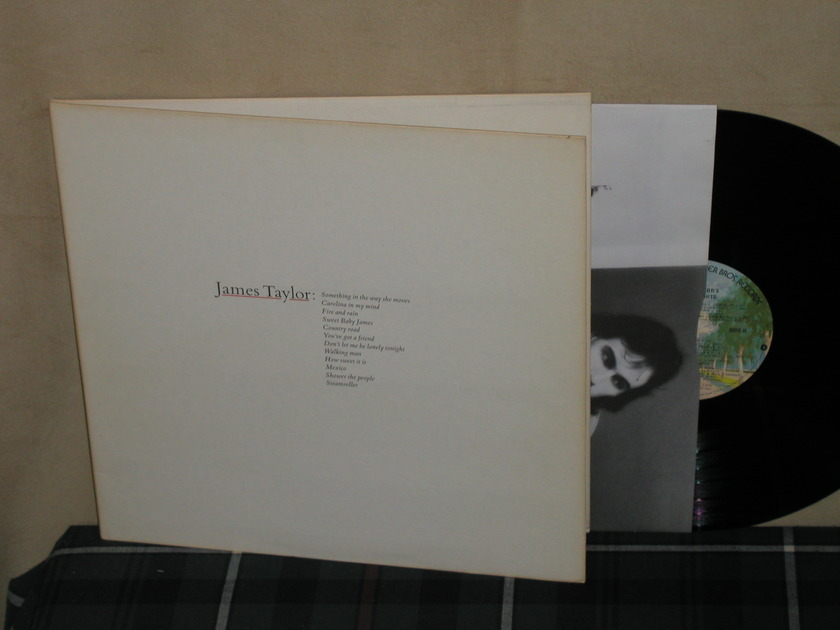 James Taylor - Greatest Hits (Palm Trees label) WB BSK 3113 from 1975