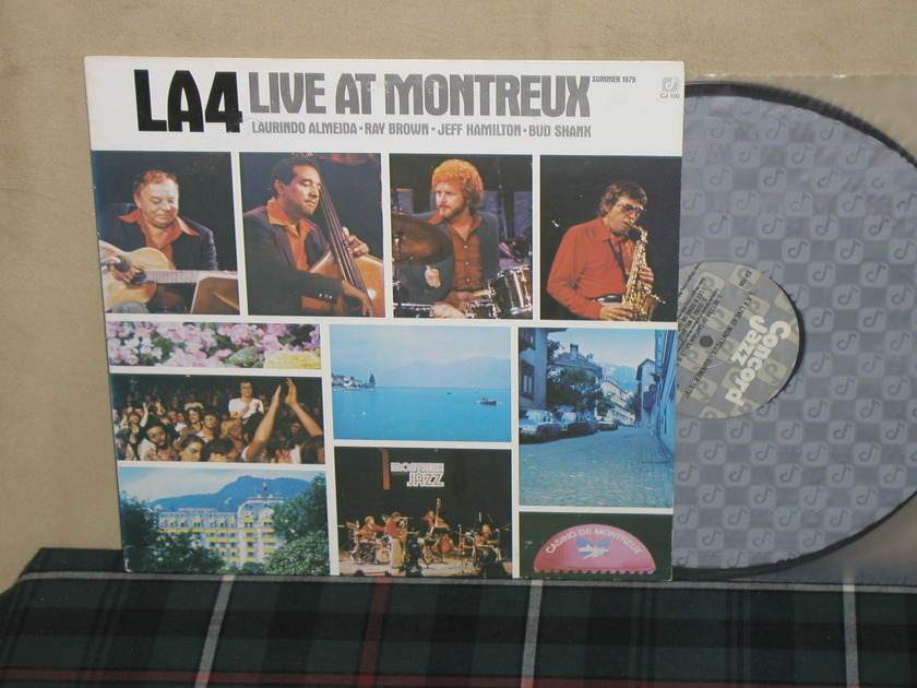 The LA4 - Live At Montreux Concord CJ-100 from 1979!