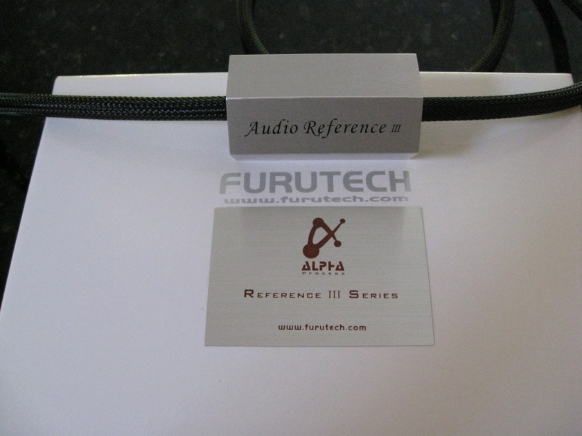 Furutech Reference 3 Alpha 1.2m. rca interconnect
